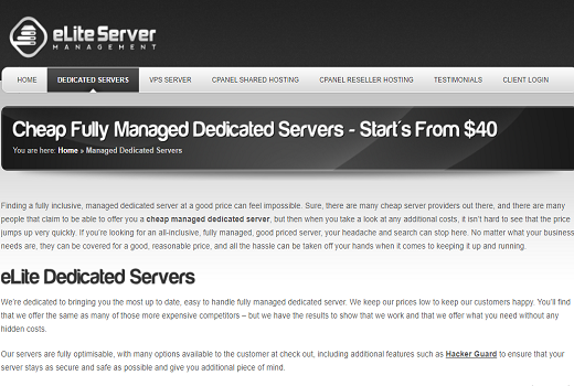 cheap SSD dedicated servers