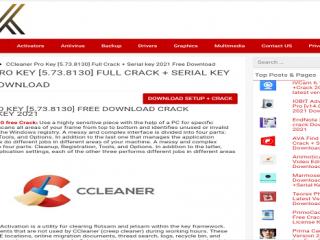 Ccleaner Crack SoftSerialsKey